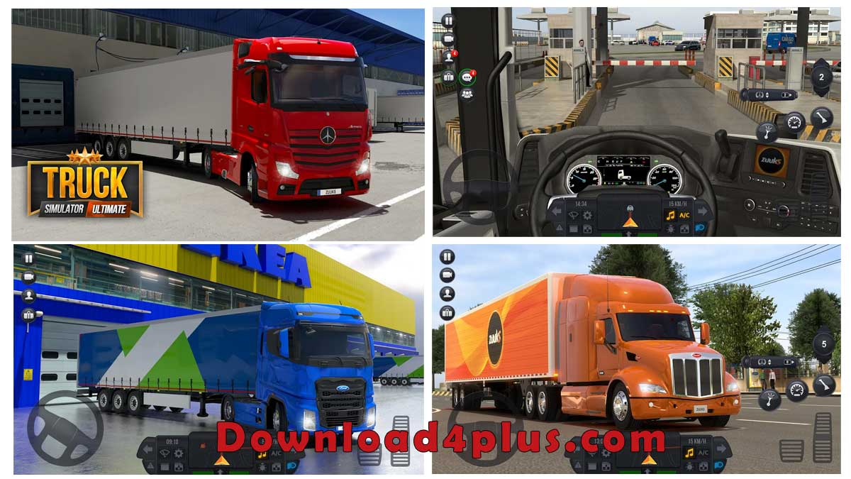 تحميل لعبة محاكي Truck Simulator